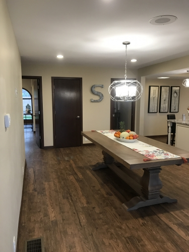 Dining Area At Stately Living Home